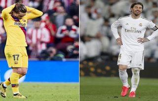 Barcelona y Madrid eliminados