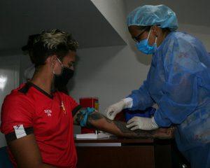 La plantilla del Aragua FC realizó sus primeros tests preventivos de COVID-19