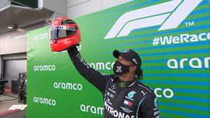 schumacher fue igualado por Lewis Hamilton