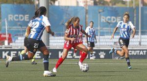 Deyna Castellanos firmó la victoria del Atletico de Madrid